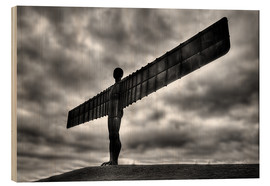 Holzbild  Angel Of The North - Simon West