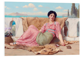 Forex  Ein ruhiges Haustier - John William Godward