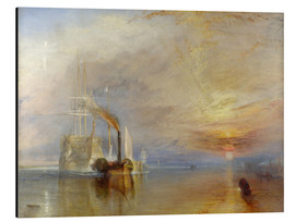 Joseph Mallord William Turner - Die Temeraire im Gefecht
