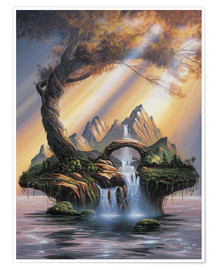 Poster  Dream of an Island - Georg Huber