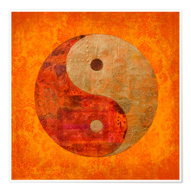 Premium-Poster  Yin und Yang - Andrea Haase