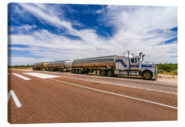 Leinwandbild  Road Train Australien - Thomas Hagenau