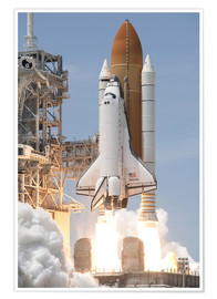 Stocktrek Images - Space Shuttle Atlantis
