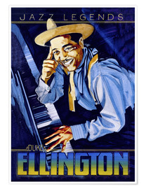 Premium-Poster Duke Ellington