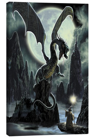 Leinwandbild  Der Fels des Drachen - Dragon Chronicles
