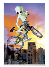 Alien Invasion - Alien BMX