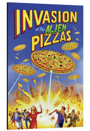 Gareth Williams - Angriff der Alienpizzas