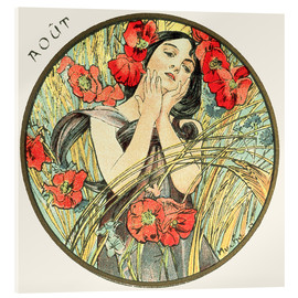 Alfons Mucha - Les Mois - August