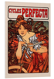 Hartschaumbild  Cycles Perfecta - Alfons Mucha