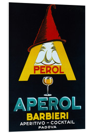 Hartschaumbild  Aperol Barbieri - Advertising Collection