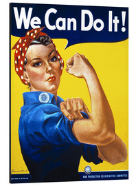 Alubild  We Can Do It! - Advertising Collection