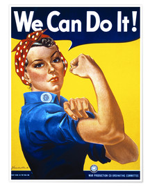 Premium-Poster  We Can Do It! - Advertising Collection