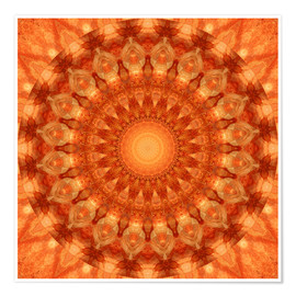 Christine Bässler - Mandala orange