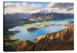 Leinwandbild  Wanaka Mountains - Michael Breitung