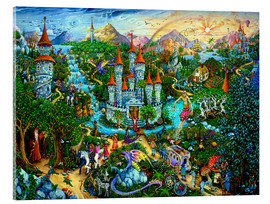 Acrylglasbild  Magic Kingdom - Michael Fishel