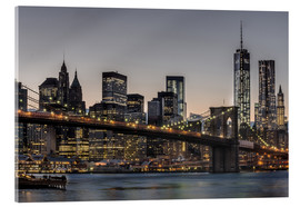 Acrylglasbild  Brooklyn Bridge / Manhattan - Marcus Sielaff