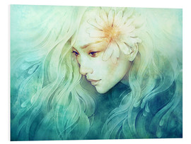 Hartschaumbild  April - Anna Dittmann