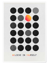 Premium-Poster  Be You - Elisabeth Fredriksson