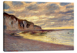 Claude Monet - Ebbe bei Pointe de L'Ailly