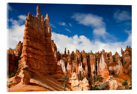 Acrylglas  Queen's garden trail Bryce Canyon - Circumnavigation