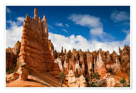 Circumnavigation - Queen's garden trail Bryce Canyon