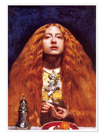 Sir John Everett Millais - Die Brautjungfer