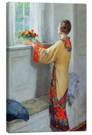 Leinwandbild  Neuer Tag - William Henry Margetson