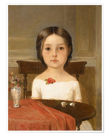 Premium-Poster  Millie Smith - Ford Madox Brown