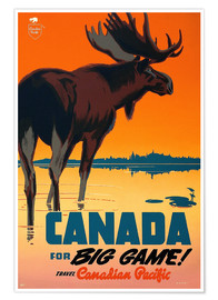 Canada for big game travel