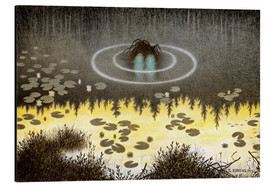 Alubild  Nøkken, The Monster of the Lake - Theodor Kittelsen