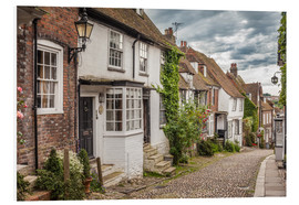 Hartschaumbild  Mermaid Street in Rye, East Sussex (England) - Christian Müringer