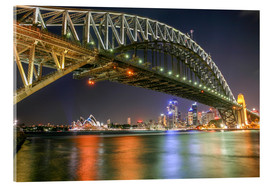 Acrylglas  Sydney Harbour Bridge I - Thomas Hagenau