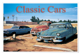 Poster Classic Cars