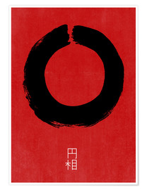 Premium-Poster  ENSO IN JAPAN - THE USUAL DESIGNERS