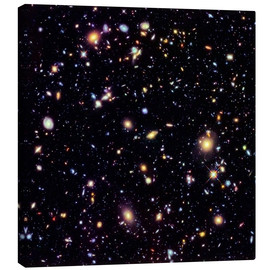 Leinwandbild  Hubble Extreme Deep Field - NASA