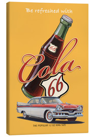 Leinwandbild  Cola 66 Advertising - Georg Huber