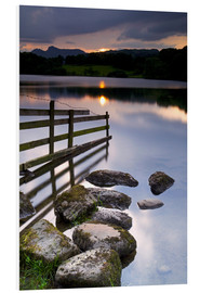 Hartschaumbild  Loughrigg Tarn in England - Jeremy Lightfoot