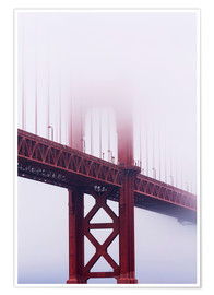 Jean Brooks - Golden Gate Bridge im Nebel, San Francisco