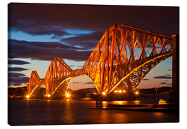 Leinwandbild  Forth Rail Bridge, South Queensferry - Neale Clarke