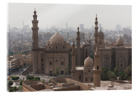 Acrylglasbild  Mosque of Sultan Hassan in Cairo old town, Cairo, Egypt, North Africa, Africa - Martin Child