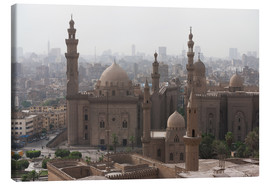 Leinwandbild  Mosque of Sultan Hassan in Cairo old town, Cairo, Egypt, North Africa, Africa - Martin Child