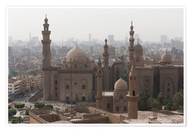 Premium-Poster  Mosque of Sultan Hassan in Cairo old town, Cairo, Egypt, North Africa, Africa - Martin Child