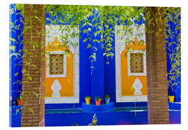 Matthew Williams-Ellis - Fenster in den Majorelle Gardens
