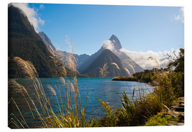 Leinwandbild  Mitre Peak, Milford Sound - Matthew Williams-Ellis