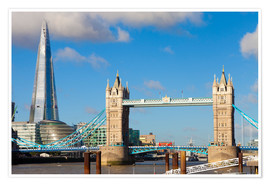Miles Ertman - The Shard & Tower Bridge