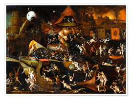 Premium-Poster The harrowing of hell