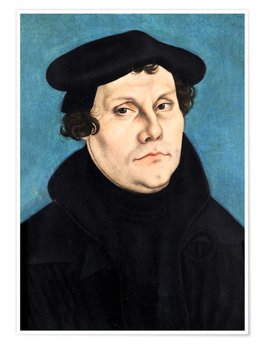 Premium-Poster Martin Luther