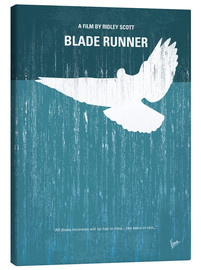Leinwandbild  No011 My Blade Runner minimal movie poster - chungkong