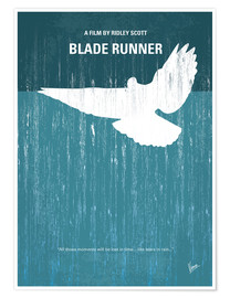 chungkong - No011 My Blade Runner minimal movie poster