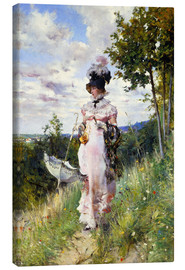 Giovanni Boldini - Der Sommer Spaziergang